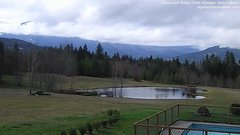 view from Olympic View Cabins Hurricane Ridge Cam on 2018-03-06
