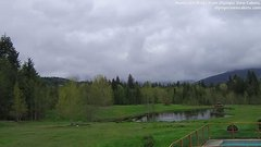 view from Olympic View Cabins Hurricane Ridge Cam on 2018-04-30