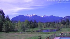 view from Olympic View Cabins Hurricane Ridge Cam on 2018-05-12