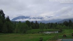 view from Olympic View Cabins Hurricane Ridge Cam on 2018-05-18