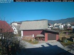 view from VREME ŽIRI-cam-1-SV on 2018-01-29