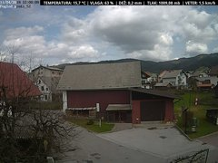 view from VREME ŽIRI-cam-1-SV on 2018-04-11