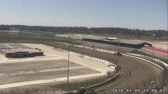 view from Eldora Speedway on 2018-04-08