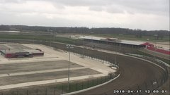view from Eldora Speedway on 2018-04-17