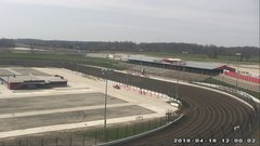view from Eldora Speedway on 2018-04-18