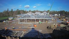 view from RHS Wisley 2 on 2018-02-12