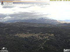 view from Monte Lusei Seui on 2018-02-19