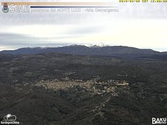 view from Monte Lusei Seui on 2018-03-08