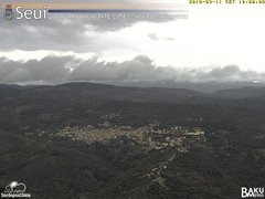 view from Monte Lusei Seui on 2018-03-11