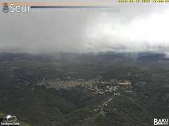 view from Monte Lusei Seui on 2018-05-15