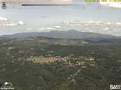view from Monte Lusei Seui on 2018-05-20