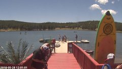 view from Angel Fire Resort - Monte Verde Lake on 2018-05-28