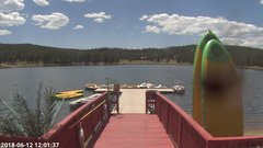 view from Angel Fire Resort - Monte Verde Lake on 2018-06-12