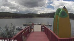 view from Angel Fire Resort - Monte Verde Lake on 2018-06-17