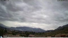 view from Gaianes - El Comtat on 2018-02-12