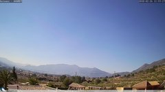 view from Gaianes - El Comtat on 2018-02-26