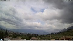 view from Gaianes - El Comtat on 2018-04-14