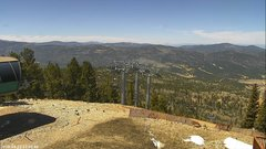 view from Angel Fire West View on 2018-04-22