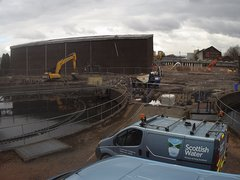 view from Dalmarnock 2 on 2018-02-26