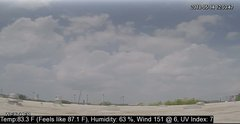 view from University Place Apartments - West Weather on 2018-05-14