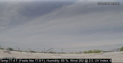 view from University Place Apartments - West Weather on 2018-05-15