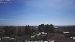 view from Montserrat - Casadalt (Valencia - Spain) on 2018-04-18