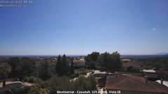 view from Montserrat - Casadalt (Valencia - Spain) on 2018-06-13