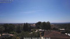 view from Montserrat - Casadalt (Valencia - Spain) on 2018-06-17