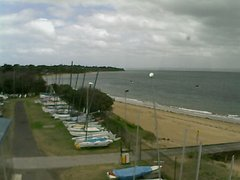 view from Cowes Yacht Club - West on 2018-02-16