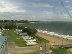 view from Cowes Yacht Club - West on 2018-06-16