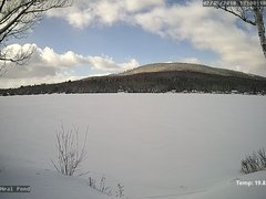 view from Neal Pond on 2018-02-05