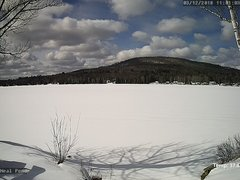 view from Neal Pond on 2018-03-12