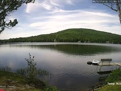 view from Neal Pond on 2018-06-17