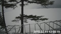 view from Bluffhead Hullets Landing, NY on 2018-02-11