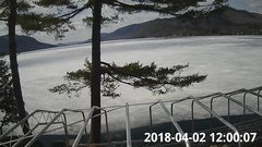 view from Bluffhead Hullets Landing, NY on 2018-04-02