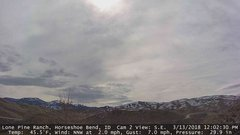view from Horseshoe Bend, Idaho CAM2 on 2018-03-13