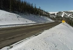view from 4 - Highway 50 Road Conditions on 2018-01-29