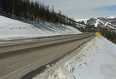 view from 4 - Highway 50 Road Conditions on 2018-03-09