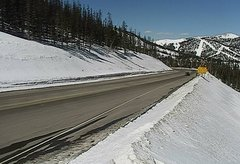 view from 4 - Highway 50 Road Conditions on 2018-03-17