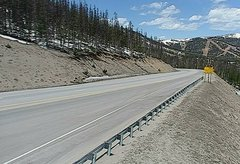 view from 4 - Highway 50 Road Conditions on 2018-05-14