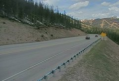 view from 4 - Highway 50 Road Conditions on 2018-05-20