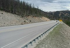 view from 4 - Highway 50 Road Conditions on 2018-05-28