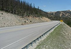 view from 4 - Highway 50 Road Conditions on 2018-06-04