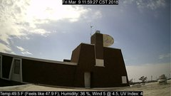 view from University Place Apartments - South Weather on 2018-03-09