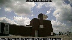 view from University Place Apartments - South Weather on 2018-05-16