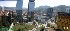 view from Sarajevo on 2018-06-12