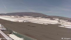 view from Mifflin County Airport (west) on 2018-02-12