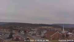 view from Highland Park Hose Co. #1 on 2018-01-29