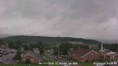 view from Highland Park Hose Co. #1 on 2018-06-13
