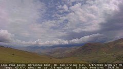 view from Horseshoe Bend, Idaho CAM1 on 2018-05-17